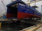 Damen Launches Wind Farm Service Vessels for SeaZip