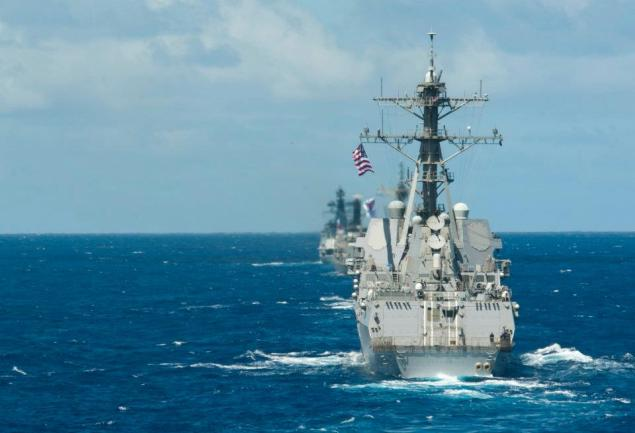 rimpac destroyer formation arleigh burke ddg uss stockdale