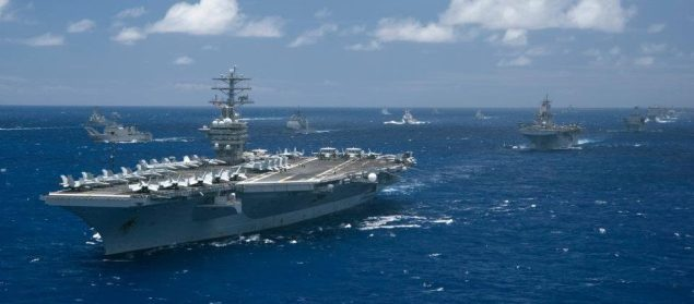 rimpac aircraft carrier formation us navy naval