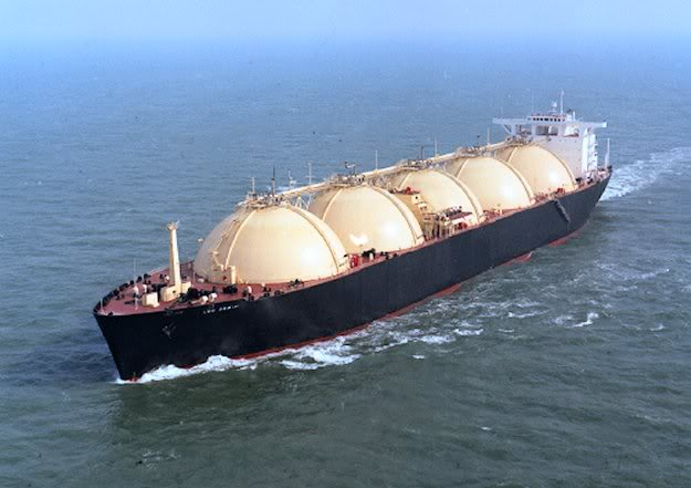 LNG carrier. File photo.