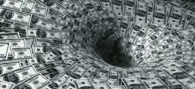 shutterstock money vortex black hole decline finance