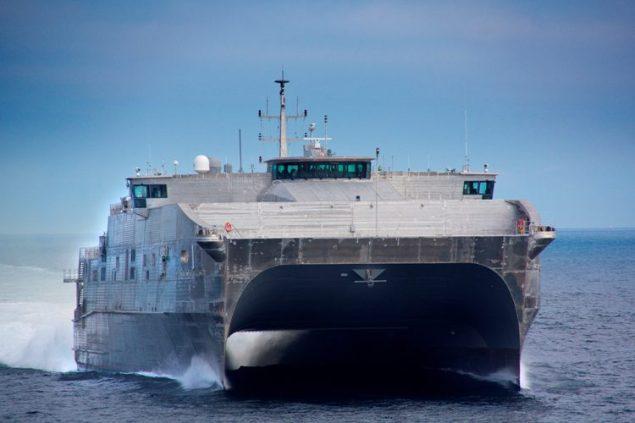 JHSV 1 Sea Trials