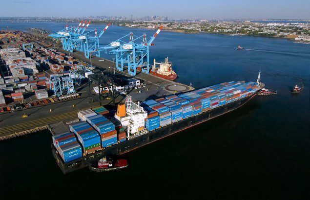 Hanjin vessel APM Terminals Port Elizabeth containership