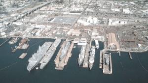 BAE Shipyard San Diego