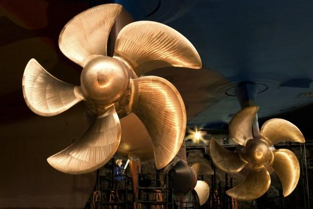 ABB Azipod propeller
