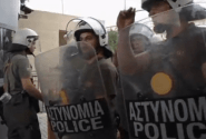 Greek Shipyard Workers Take The Offensive, Break Into Defense Ministry