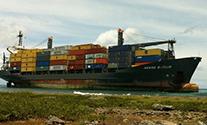 Salvors Refloat the Hansa Berlin off Cuba