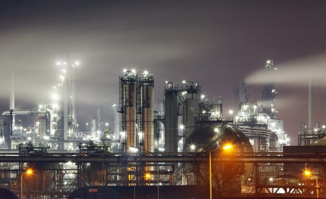 shutterstock refinery refineries petrochemical plant
