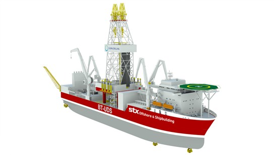 BT-UDS dynamic-positioned Ultra Deep Water (UDW) drillship