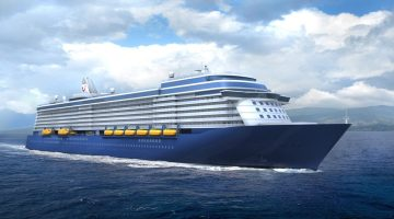 An artist's rendition of TUI's newbuilds