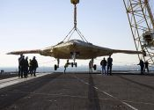U.S. Navy Testing Carrier-Based Unmanned Aircraft