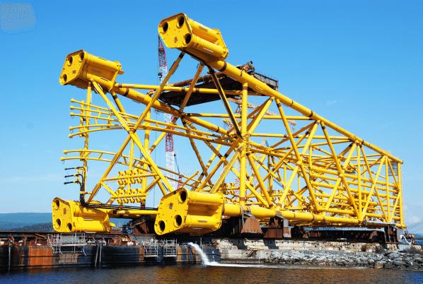 gudrun steel jacket offshore platform