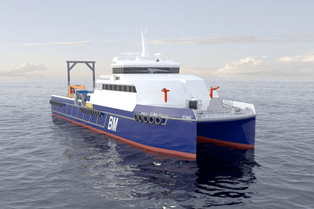 incat crowther dive support vessel dsv
