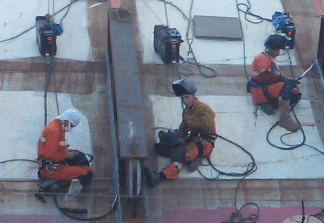 costa concordia welders salvage