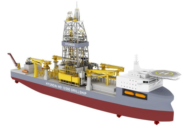 hd12000 drillship