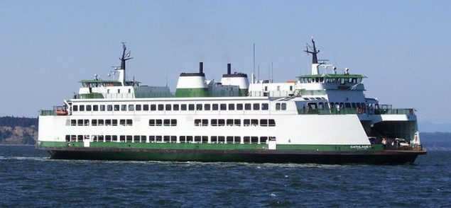 Washington State Ferry M/V Cathlamet