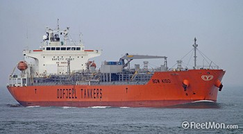 bow kiso chemical tanker