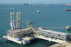 singapore LNG import jetty