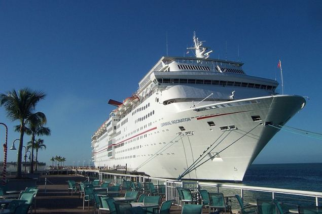 Carnival Fascination in Key West, FL in 2011. File photo.