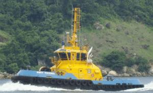 SMIT Ticuna, a 46t bollard pull harbor tug operating in Brazil. Photo: SMIT