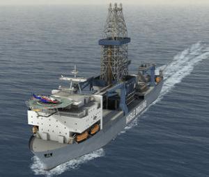 Illustration of the Noble drillships.