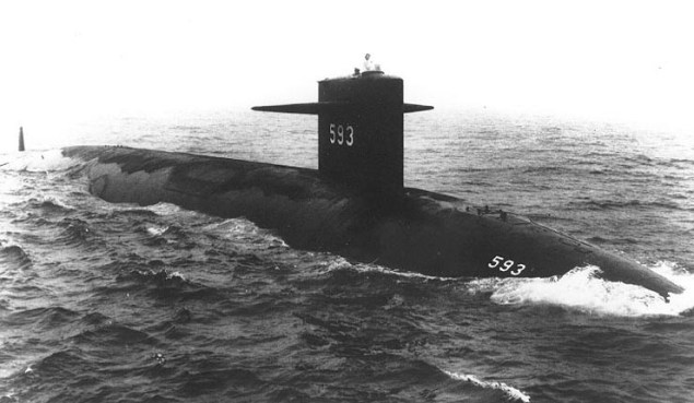uss thresher submarine