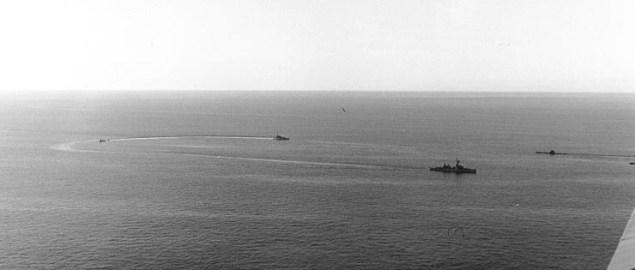 thresher sinking us navy