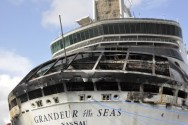 SPOTD: Royal Caribbean's Grandeur of the Seas Catches on Fire