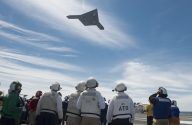 Unmanned X-47B Completes First Carrier-Based Launch [PHOTOS]