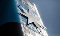 Maersk Logo on Triple-E Funnel