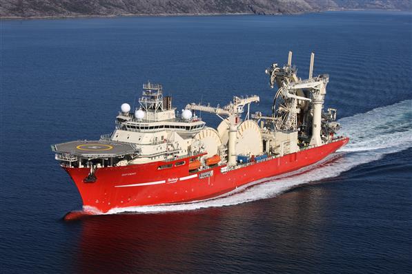 Deep Energy during sea trials. Photo: Westcon