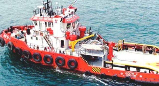 jascon 4 tugboat sinks chevron