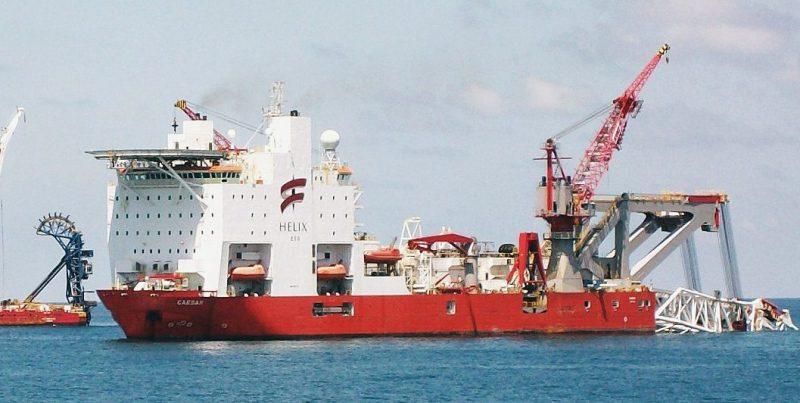 lewek centurion ceasar pipelay vessel