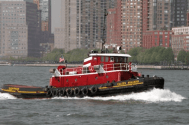 McAllister Tug Sinks in Baltimore
