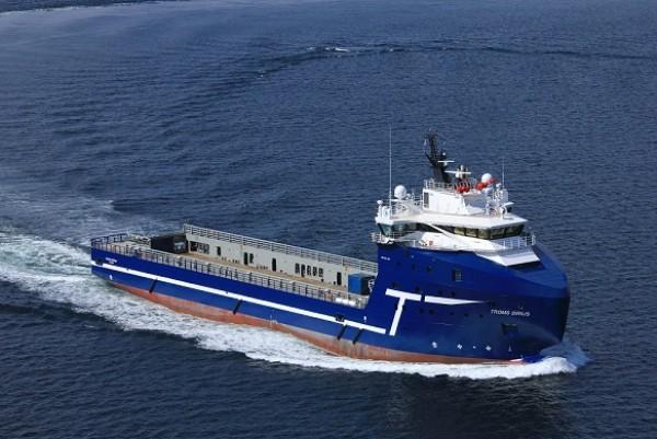 Troms Offshore's MV Troms Sirius