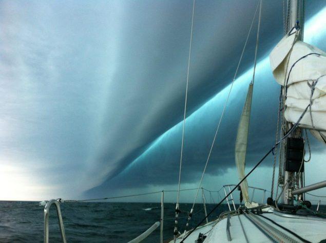 weather front derecho