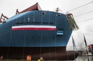 MV Mærsk Mc-Kinney Møller. Image courtesy Maersk Line.