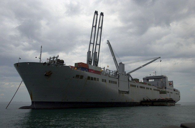 USNS Seay (T-AKR 302). Photo courtesy Military Sealift Command