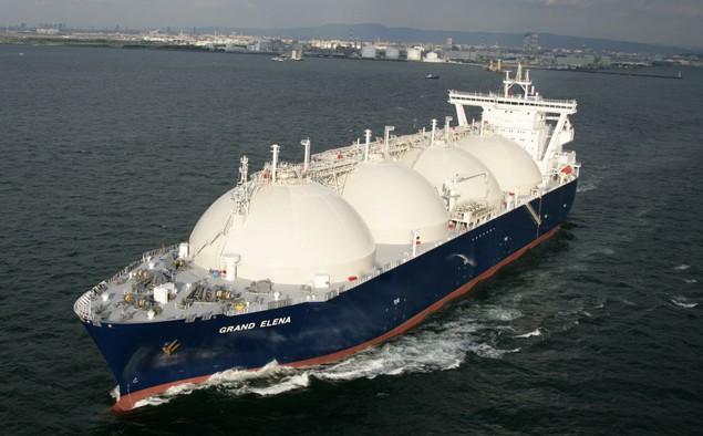 lng carrier grand elena gazprom