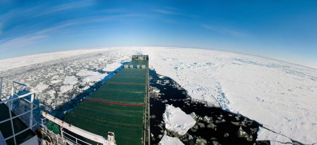 Arctic shipping file photo. Credit: Shutterstock