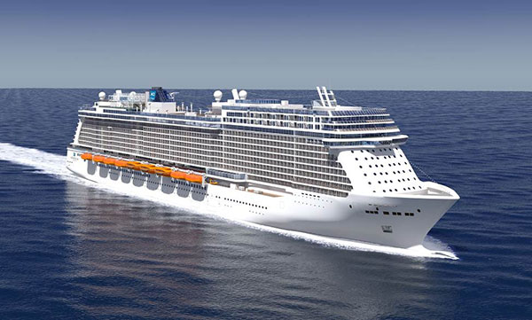 "An illustration of NCL's ""Breakaway Plus"" class. Image credit Norwegian Cruise Line"