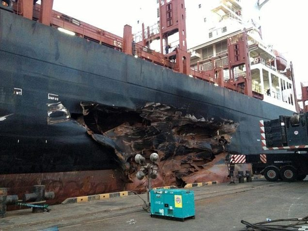 RHL Fidelitas collision