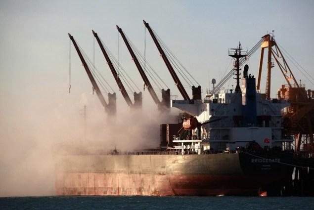 bulk carrier iron ore australia rio tinto