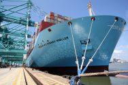 Mærsk McKinney-Møller's Maiden Port Call to Busan [TIMELAPSE VIDEO]