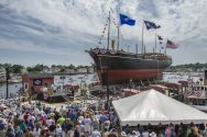 Charles W. Morgan Launched at Mystic Seaport [GALLERY]