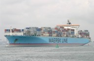 Maersk Kampala Containership on Fire Near the Suez [UPDATE]