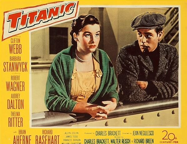 Titanic lobby card
