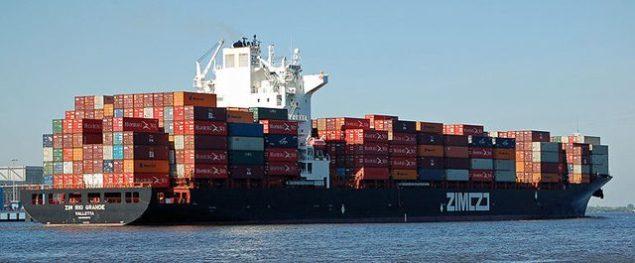 zim rio grande containership
