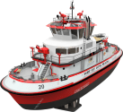 First Look: Port of Long Beach's Powerful New Fireboat