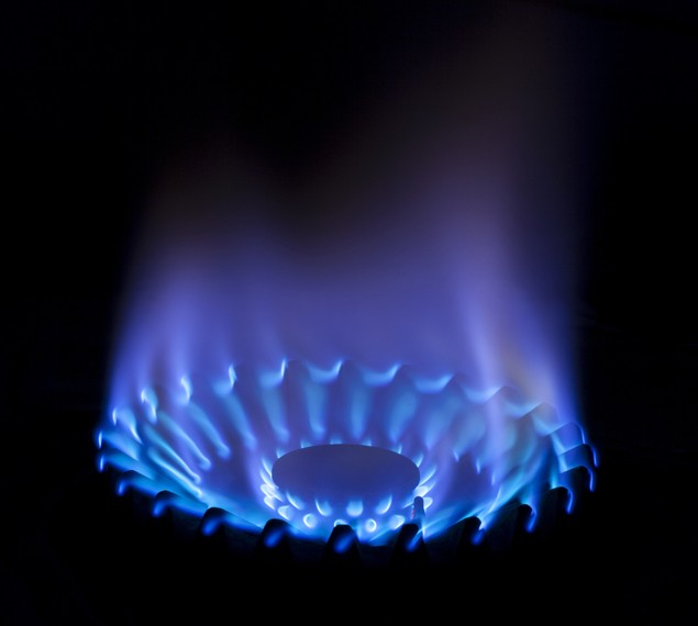 propane gas flame